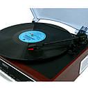 Проигрыватель виниловых дисков с радио Camry CR 1113, фото 4