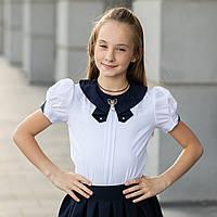 """Школьная блузка белая """"Б-2"""" , фото 1"""