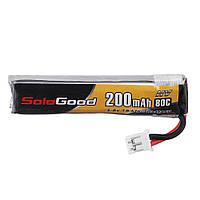 Soldgood 3.8V 200mAh 80C 1S HV 4.35V PH2.00 Plug Lipo Батарея для Emax Tinyhawk Kingkong / LDARC TINY - 1TopShop