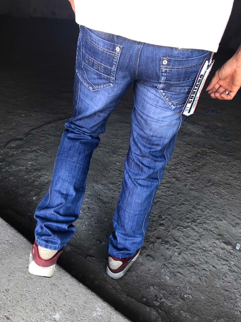 3dc742cb85349 0803 Govibos джинсы мужские молодежные весенние стрейчевые (27-33, 7 ед.