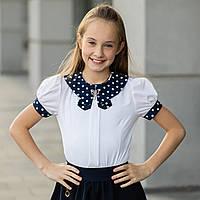 """Школьная блузка белая """"Б-7"""" , фото 1"""
