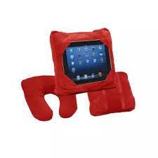 Дорожня подушка Go Go Pillow Червона 3 в 1 підставка і чохол для планшета подушка підголовник Гоу Гоу Піллоу