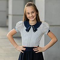 """Школьная нарядная блузка """"Б-10"""", фото 1"""