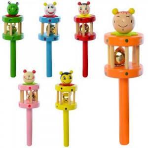 Деревянная игрушка Погремушка, фото 2