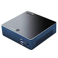 HYSTOUM10MiniPCi5-8250U8-го поколения 4 ГБ + 64 ГБ / 4 ГБ + 128 ГБ Windows 10 DDR4 Четырехъядерный процессор Intel UHD Графика 620 1.6 ГГц