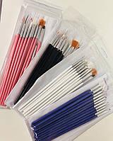 Набор кистей для дизайна ногтей, 15 шт в упаковке