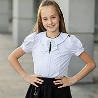 """Школьная блузка белая """"Б-14"""""""