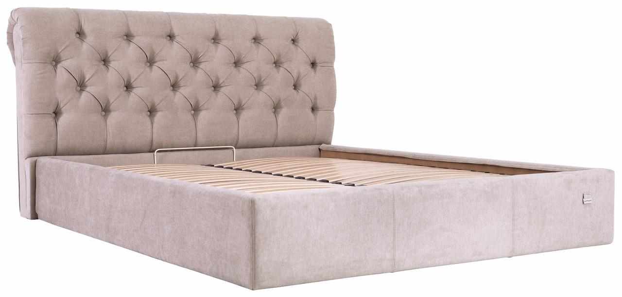 """Двуспальная кровать """"Лондон"""" с подъемным механизмом (без матраса) ТМ Richman"""