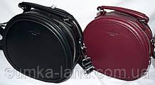 Женские овальные клатчи David Jones на 2 отделения на молнии 20*18 см (черный и бордо)