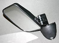 """KingMaster - Комплект: левое и правое зеркало бокового вида для автомобилей """"НИВА"""", черный пластик"""