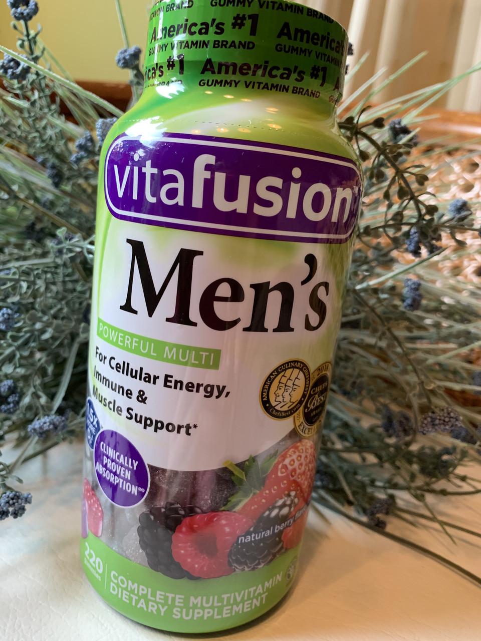 Витамины для мужчин  Vitafusion Men's Multivitamin