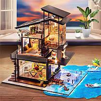 T-Yu Dollhouse DIY Валенсия Прибрежная вилла Кукольный дом Набор Коллекция подарков - 1TopShop, фото 3