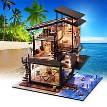 T-Yu Dollhouse DIY Валенсия Прибрежная вилла Кукольный дом Набор Коллекция подарков - 1TopShop, фото 2