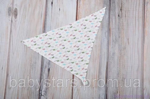 слюнявчики треугольники