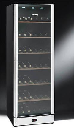 Шафа холодильна для вина Smeg SCV115-1, фото 2