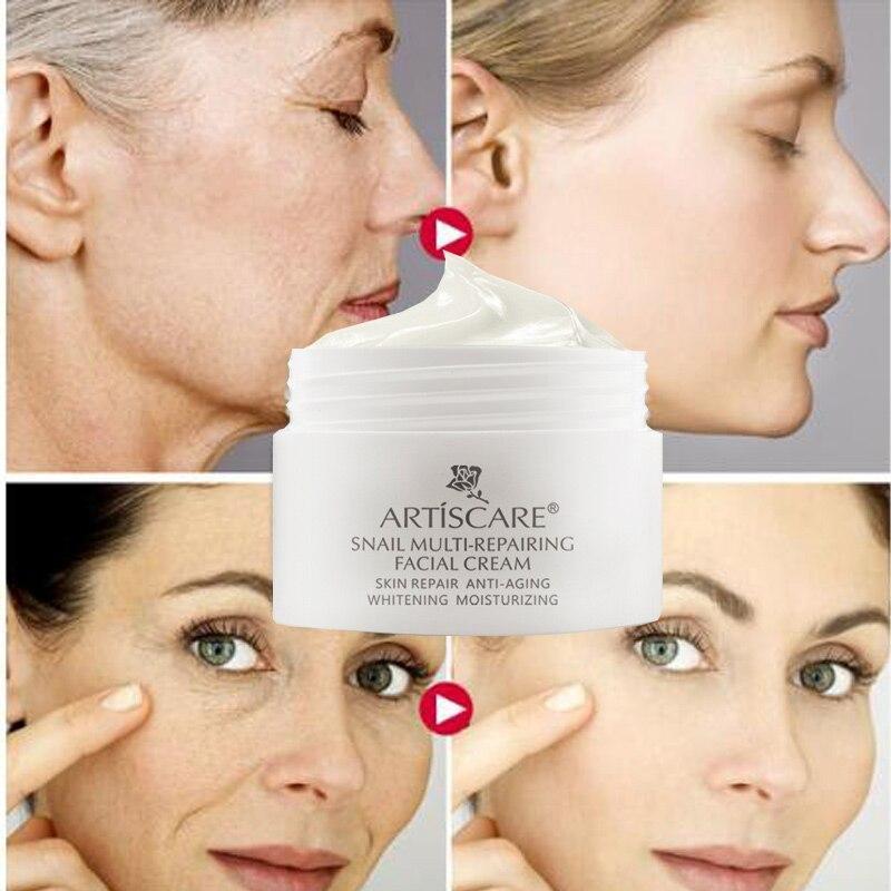 Улиточный крем для лица с пептидами,против морщин,питание,увлажнение,восстановление Artiscare Snail Cream 30ml