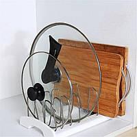 Lifewit Регулируемый держатель для кастрюли с крышкой для посуды Кухонная посуда Органайзер Решение для хранения - 1TopShop