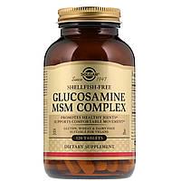 Глюкозамин МСМ комплекс, Glucosamine MSM, Solgar, 120 таблеток