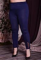 Женские лосины из вискозы в больших размерах 10mbr766, фото 1