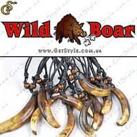 """Прикраса на шию Ікла Кабана - """"Wild Boar"""" - оберіг від пристріту, фото 1"""