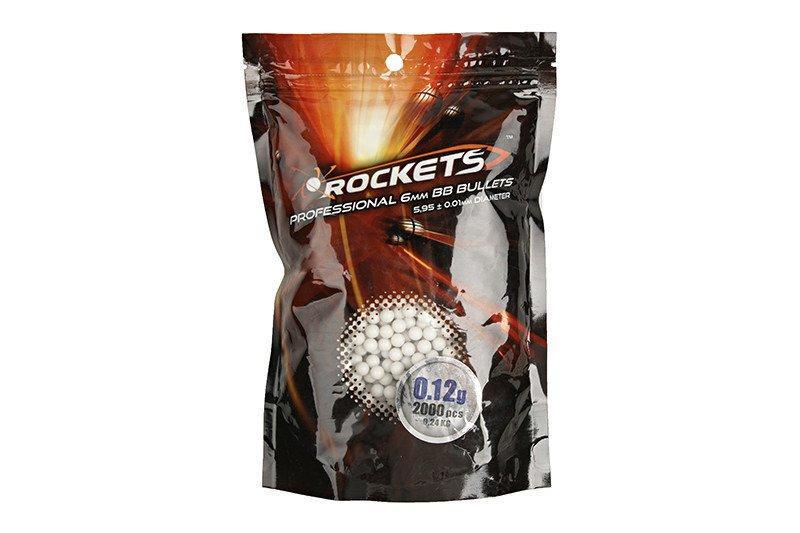 Шары страйкбольные Rockets Professional 0,12g - 2000 szt. [ROCKETS]