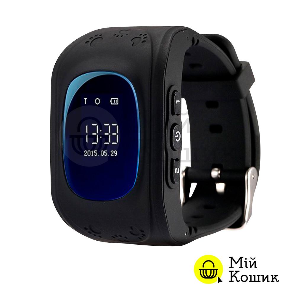 Smart Baby Watch Q50 - детские умные часы с GPS черные