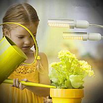 45 Вт Full Spectrum 88 LED Растение Grow Light Двойная головка Клип Гусиная шея Лампа для рассады в помещении Цветущий плодоношение - 1TopShop, фото 2