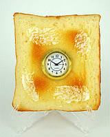 Часы - гренка / бутерброд