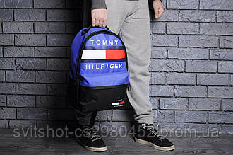 Рюкзак tommy filfiger, синий