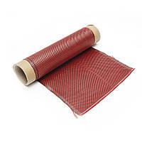 1 м 3 К 200 г Красного Углеродного Волокна Гибрид Ткань Ткань Обычного Плетения Ткань Высокая Прочность для Строительства Моста Ремонт Ремон -