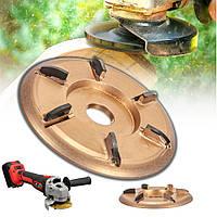 Деревообработка Turbo Plane Power Wood Carving Инструмент Насадка для угловых шлифовальных машин - 1TopShop