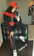 Утепленный женский костюм спорт с высоким горлом 7msp537, фото 1