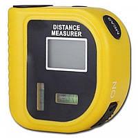Лазерная рулетка с уровнем дальномер электронный RoHS CP-3010
