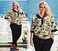 """Летний стильный женский костюм 758 """"Штапель Турецкий Орнамент"""", фото 2"""