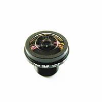 1 / 2.5 1.7 мм 5MP M12 IR Заблокированный широкоугольный угол FPV камера Объектив - 1TopShop