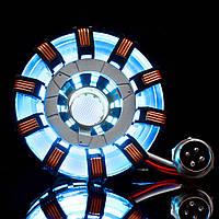 MK2АкрилДистанционныйВер.TonyARC Reactor Model DIY Набор USB-сундук Лампа Дистанционное Управление Осветительный прибор LED Flash Набор света -
