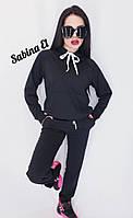 Женский спортивный костюм с худи из двухнитки 7msp563, фото 1