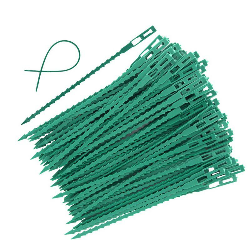 Стяжки для садовых растений 100 шт.