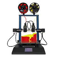 TENLOG®TL-D3профессионал3D-принтерсдвумя экструдерами Набор Размер печати 300 * 300 * 350 мм 4.3 дюйма Большой LCD Дисплей Поддержка двойного