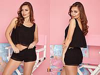 Жіночий домашній комплект з шортами і майкою 31mod73