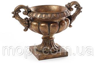 Декоративное кашпо 37см, цвет - бронза BonaDi 430-301