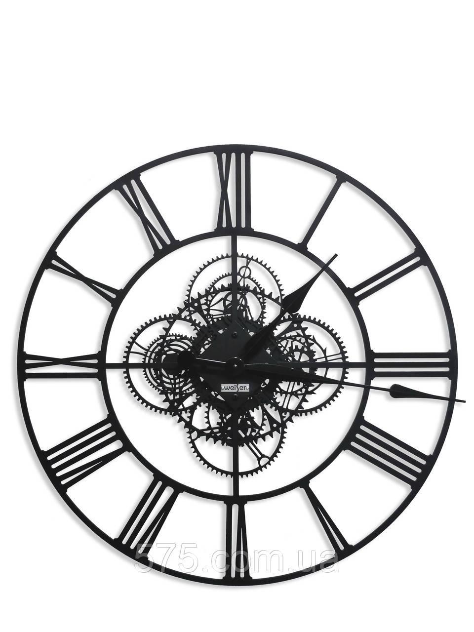 Годинники настінні дизайнерські інтер'єрні TM Weiser BERLIN (600)