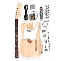DIY Электрические аксессуары для гитары Набор Бук для тела из дерева Шея - 1TopShop