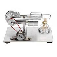 Стирлинг Двигатель Модель Мотор Подарочная физическая лабораторная игрушка STEM Science - 1TopShop