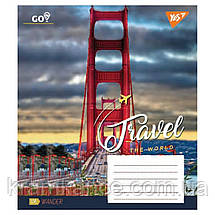"Тетрадь 96 листов YES ""TRAVEL THE WORLD"" линия 763876, фото 3"