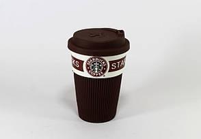 Термокружка керамическая Cup StarBucks, фото 2