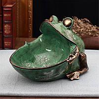 Урожай Тиснение Лягушка Хранения Коробка Скульптура Разное Контейнер Статуя Украшения - 1TopShop