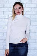 Гольф женский белый размер М 8213