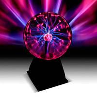 Плазменный шар Тесла (диаметр 15 см) Светильник молнии