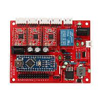 Оригинал 3018 CNC Router 3 Оси Плата Управления GRBL USB Stepper Мотор Драйвер DIY Лазер Гравер Фрезерный Гравировальный Станок Контроллер - 1TopShop